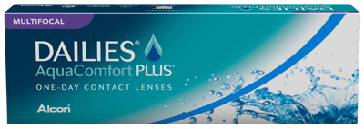 Dailies AquaComfort Plus Multifocal kontaktlinser
